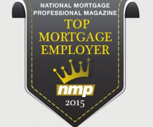 Top Mortgage Employer Award 2015